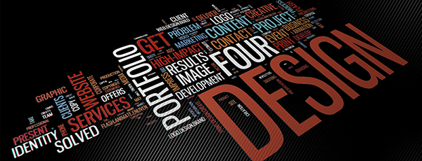 Graphic Design Wordle Background Image